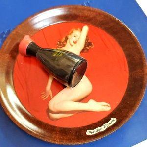 Marilyn Monroe Tin Coaster